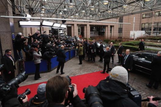 Llegando al Consejo de la UE