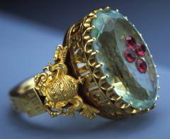 Antigop anillo papal
