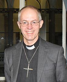 Justin Welby, arzobispo de Canterbury
