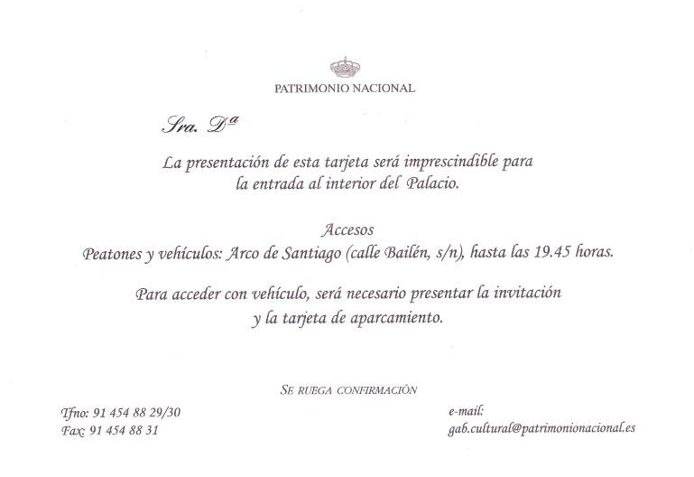 Invitaciones Protocolo A La Vista
