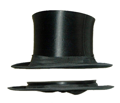 "El ""gibus"" o sombrero de copa plegable  27e2254ad08"